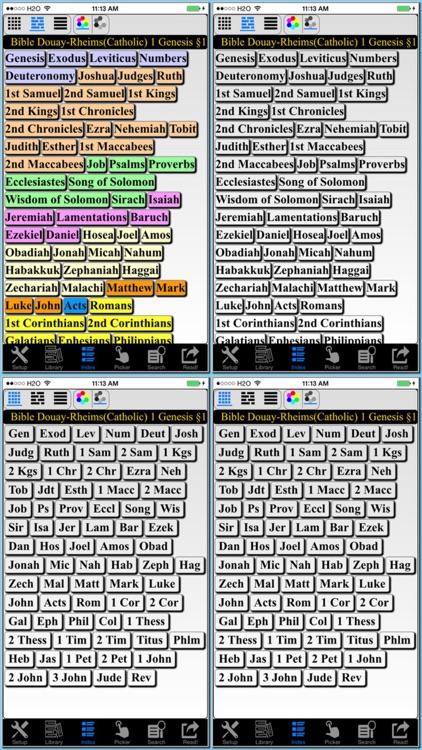 Bible Douay-Rheims Version(Catholic) screenshot-3