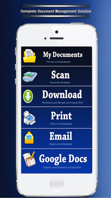 Scanner ( Scan , Print and Share Multi-page PDF Docuemnts) screenshot two