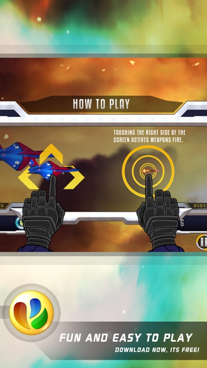 Aerial Dogfight War - Free World War Game screenshot-4