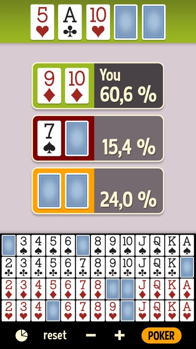 Open source poker odds calculator exposition peinture casino bellevue biarritz