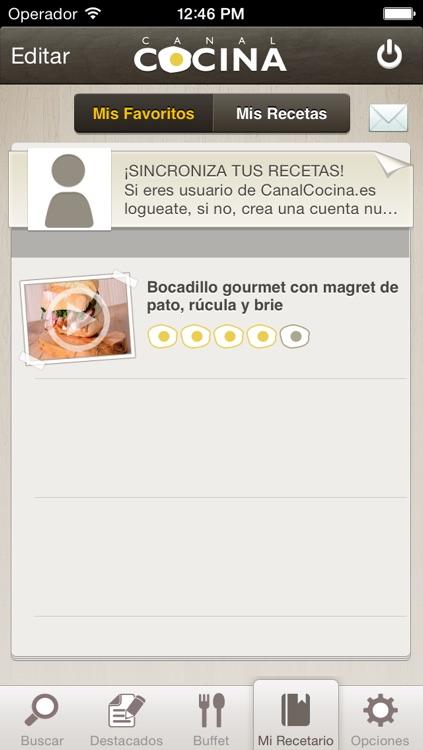 Canal Cocina screenshot-4