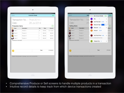 Goods Inventory Pro : for Manufacturer with multi location inventory-ipad-3