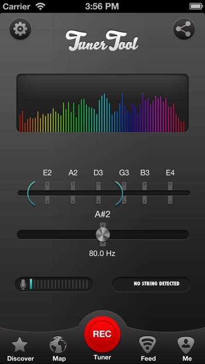 Tuner Tool, Guitar Tuning Made Easy screenshot-0