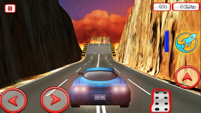 Car Stunts 3D Simulator - Extreme jet speed crazy sports driving game Screenshot on iOS