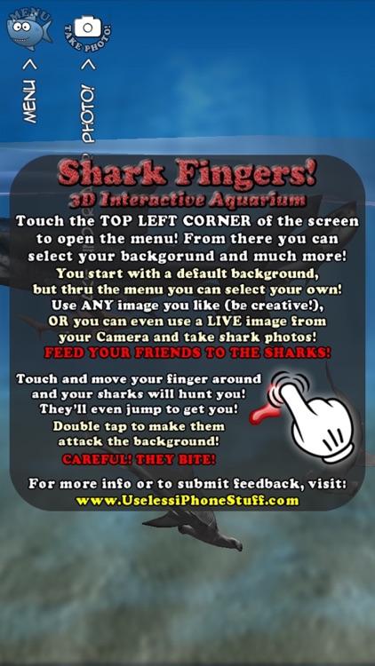 Shark Fingers! 3D Interactive Aquarium screenshot-4