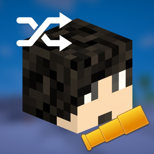 Easy Skin Shuffle Pro for Minecraft - Quick Skins Shuffler! icon