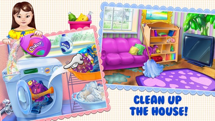 Baby Dream House - Care, Play and Party at Home! screenshot-3