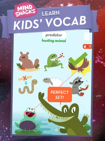 Kids' Vocab - MindSnacksのおすすめ画像1