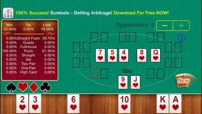 Free Holdem Calculator Скриншоты6