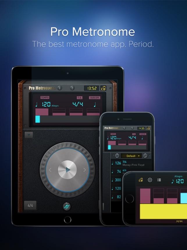 Pro Metronome - Tempo,Beat,Subdivision,Polyrhythm on the App