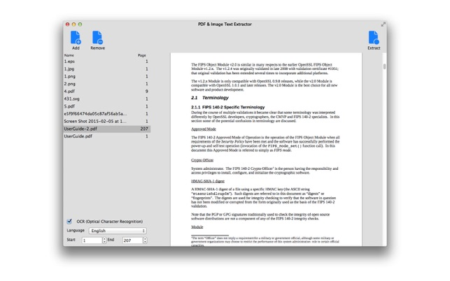 how to highlight pdf text that is an image mac
