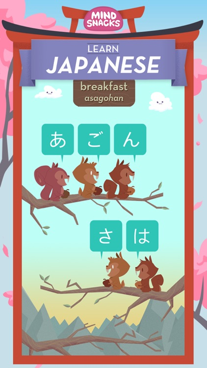 Learn Japanese by MindSnacks