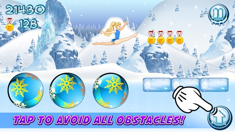 Ice Queen Adventure Gymnastics! screenshot-4