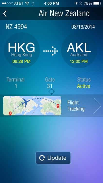 Auckland Airport - Flight Tracker AKL air New Zealand screenshot-3