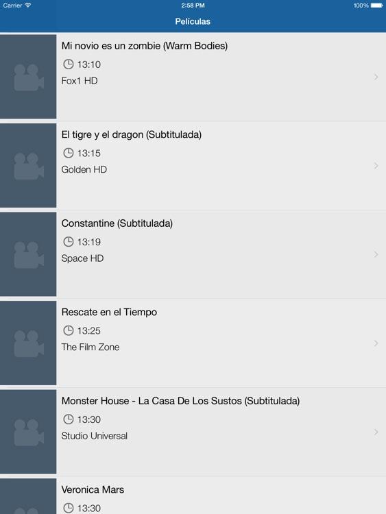 Televisión de Panamá para iPad
