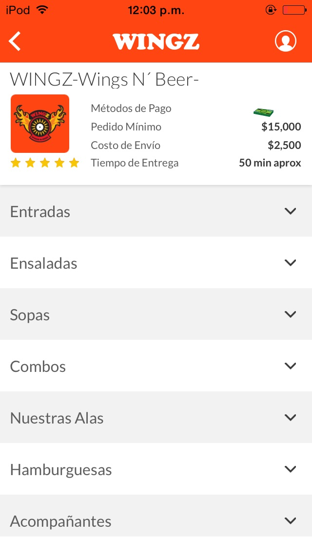 download Wingz apps 1