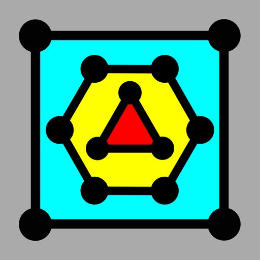 Dots & Boxes - with Triangles & Hexagons, Coins & Strings iOS App