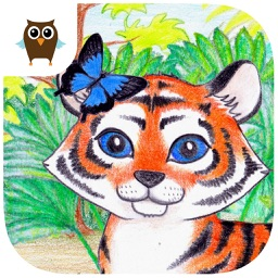 Tiger and Bugs - Kids Game