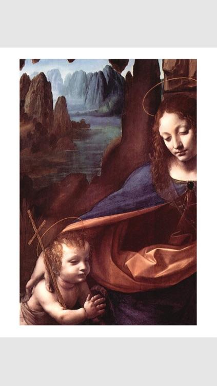 Leonardo da Vinci 100 Paintings HD 100M+ Ad-free screenshot-3