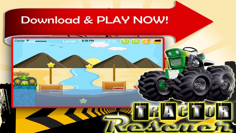 Tractor Rescuer - Awesome Game to Rescue the Trucker screenshot-4