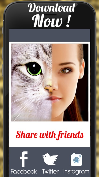 Blend Face Effect For Instagram - Morph With Wild Animal screenshot-3