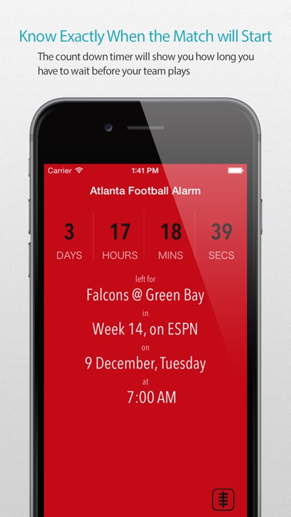 Atlanta Football Alarm Pro