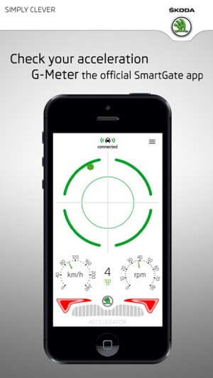 ŠKODA G-Meter Screenshot