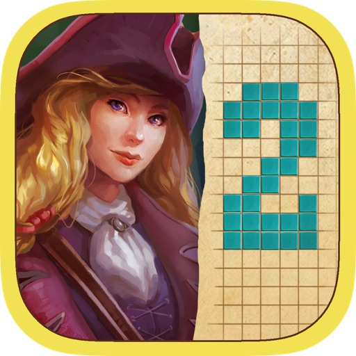 Fill and Cross. Pirate Riddles 2 Free