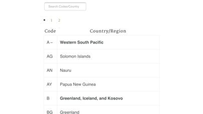 Airport Airline Codes Databaseのおすすめ画像4