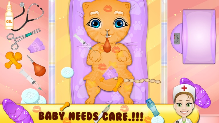 Born Baby Pet Care and Hospital screenshot-4