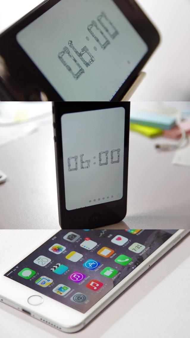 機械仕掛けの時計アプリ screenshot1