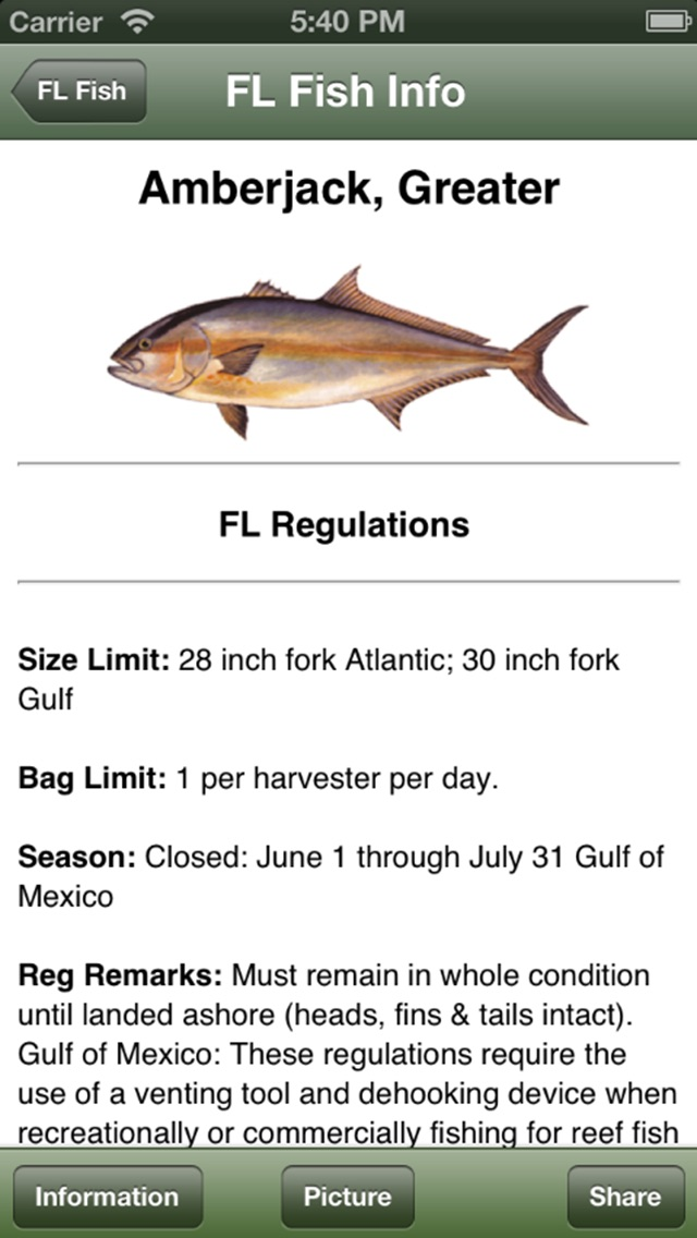 Sc Saltwater Fishing Companion review screenshots