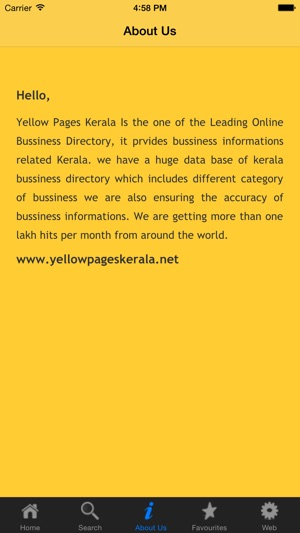 Yellow Pages Kerala App on the App Store