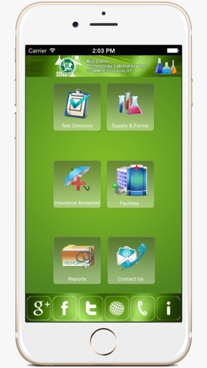 Bio Chem Tech Lab Inc  on the App Store