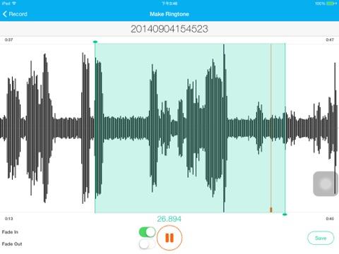 Ringtone Genius Free - Professional Ringtone Maker Скриншоты7