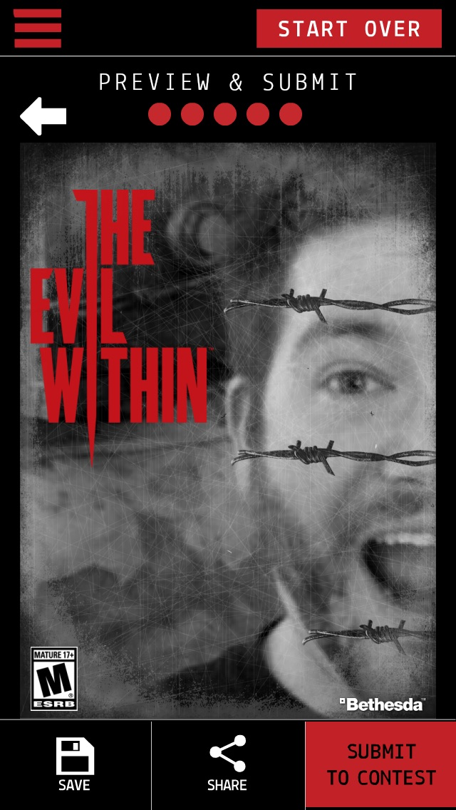 The Evil Within Photo App