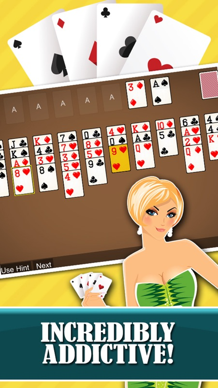 Forty thieves solitaire free card game classic solitare solo.