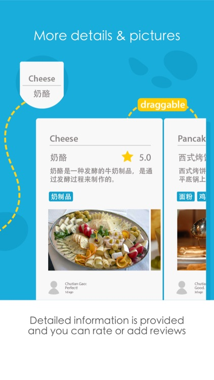 Blue Cheese - Visual Menu Translator & Dictionary