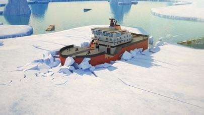 3D Icebreaker Parking - Arctic Boat Driving & Simulation Ship Racing Gamesのおすすめ画像1