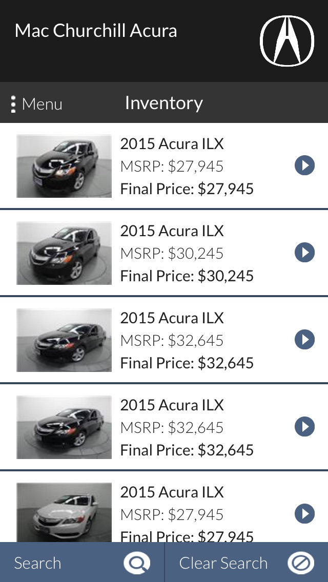 Mac Churchill Acura Mobile - by Data Services LLC ...