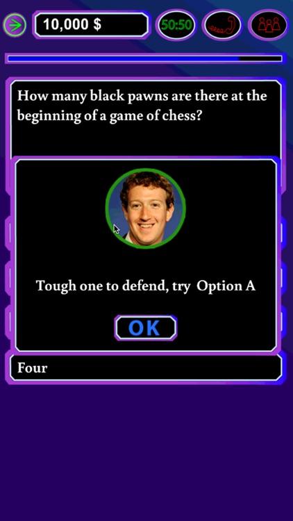 Millionaire Quiz Game Free screenshot-3