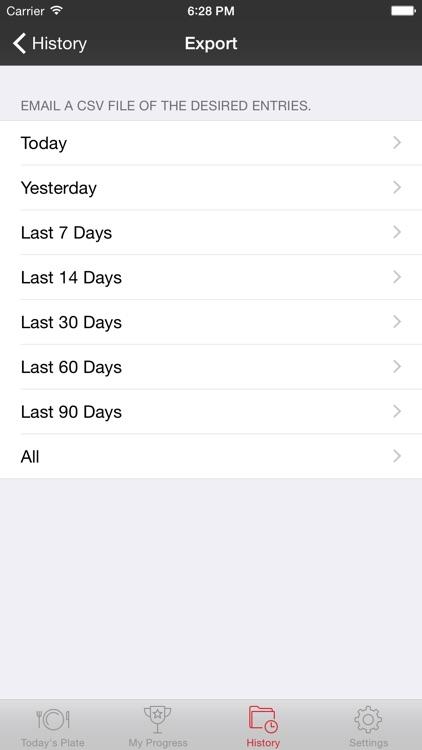 My Daily Plate screenshot-3