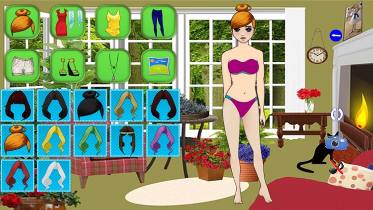 Sexy girls dress up games