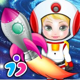 New Born Baby Space Adventure