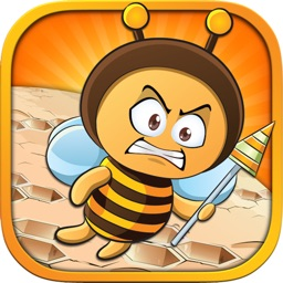 Angry Bees - The Honey Addicted Bee