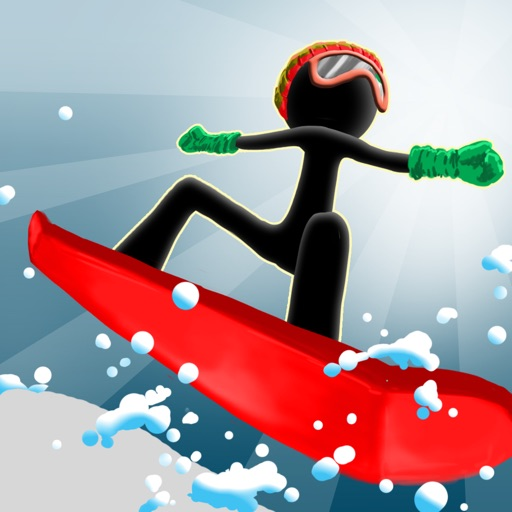 Absolute eXtreme Stickman Snowboarding - Wild & Crazy Stunts Snow Boarder Edition