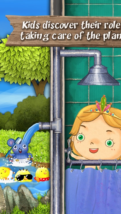 Nature : Bert Save the Earth,  The story app for boys and girls to learn simple actions to protect the planet screenshot-4