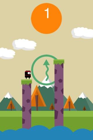 A Ninja Man Jump Master - Spring Mr Ninja Along Th - náhled