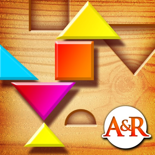 My First Tangrams - A Wood Tangram Puzzle Game for Kids
