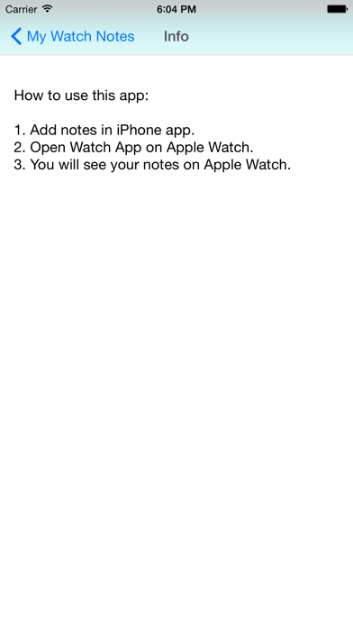 Quick Notes for iPhone & Watch screenshot three